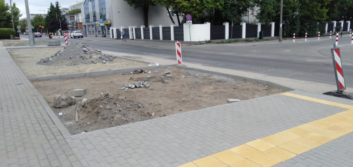 Remont ulicy Gajowej